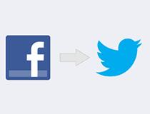 facebookに投稿したら、ツイッターにも自動で内容を表示させる