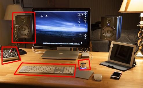 超クール Macデスクトップ周り 周辺機器 3