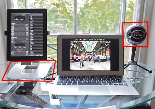 超クール Macデスクトップ周り 周辺機器 1