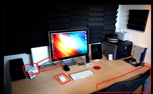超クール Macデスクトップ周り 周辺機器 2