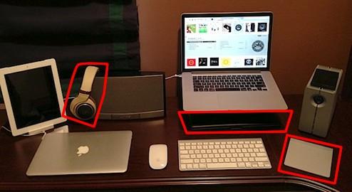 超クール Macデスクトップ周り 周辺機器 5