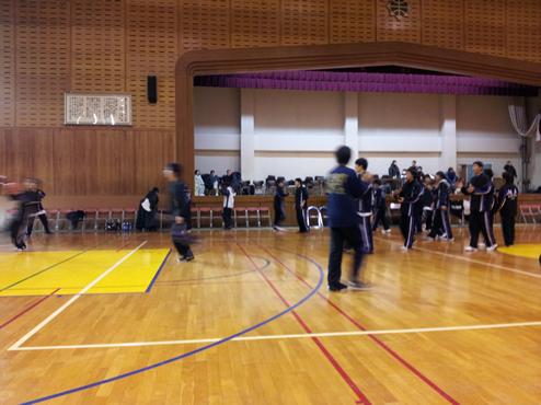 母校(高校)のバスケの新人戦の試合を見に行ってきました!