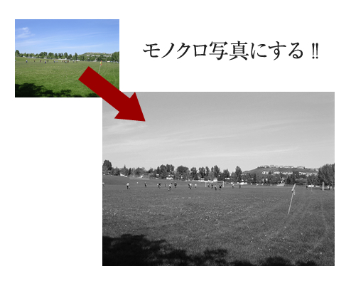 Adobe Fireworksで作る、画像を簡単にモノクロにする方法