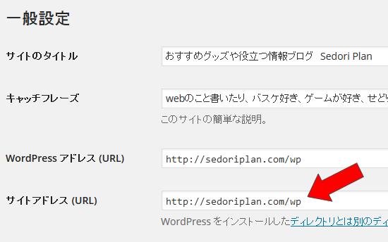 サイトアドレス (URL)