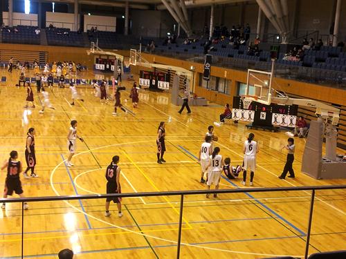 第43回東海クラブバスケットボール選手権大会の初日を見に行った