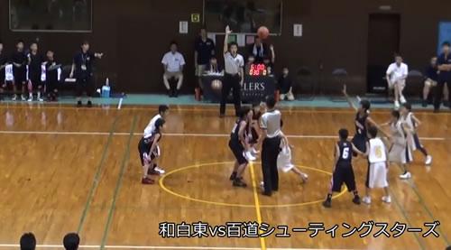 福岡市ミニバスケットボール夏季交歓大会決勝