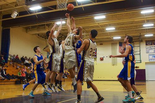 [バスケ]高校生の試合はどちらのチームも応援したくなる